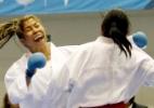 Valeria Kumizaki cai diante de norte-americana e fica só com o bronze no caratê