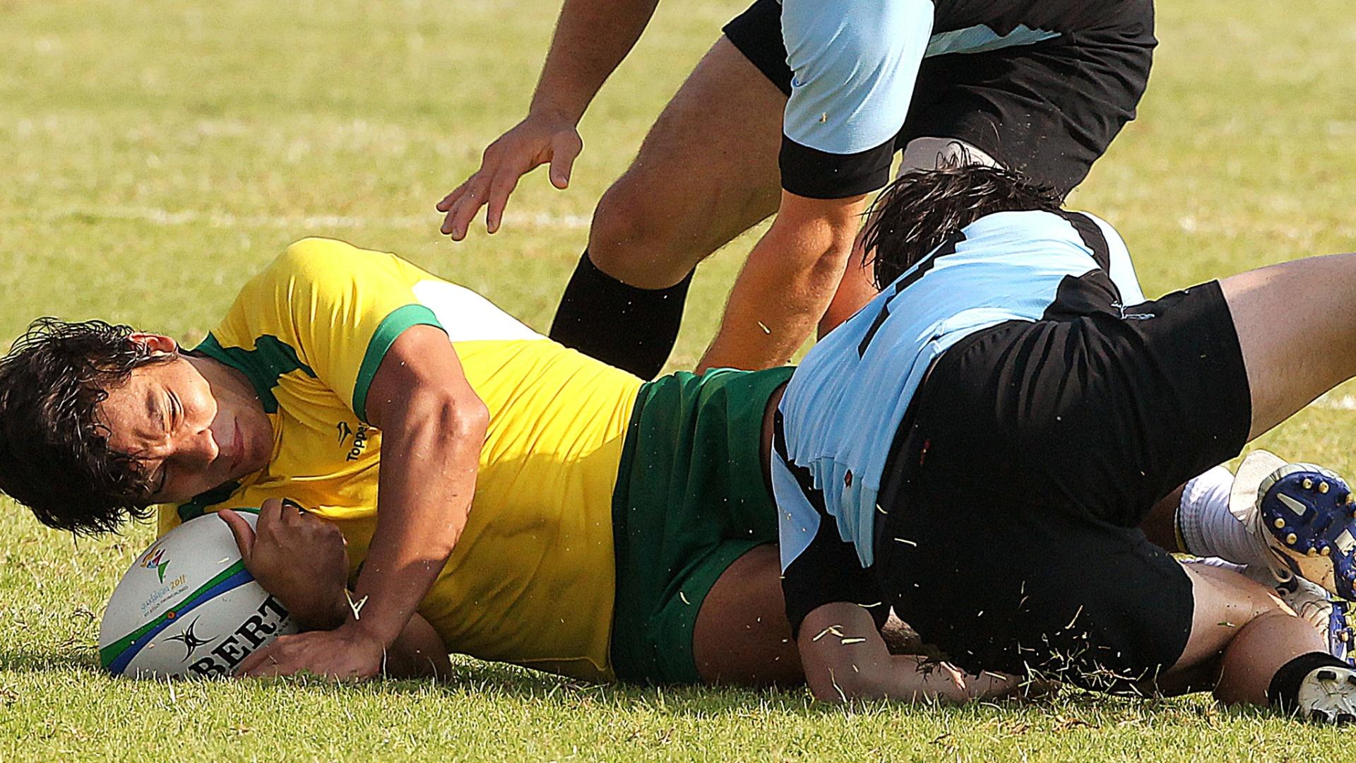 A seleção brasileira perdeu para o Uruguai e lamentou '1 a 0 suado' no rúgbi (30/10/2011)