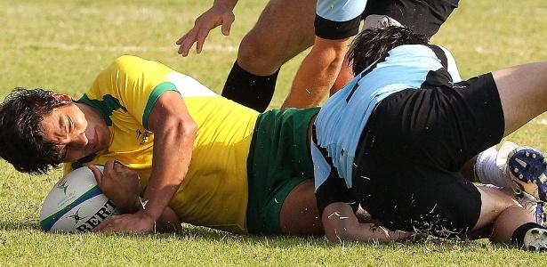 A seleção brasileira de rúgbi está fora da briga por medalhas no Pan