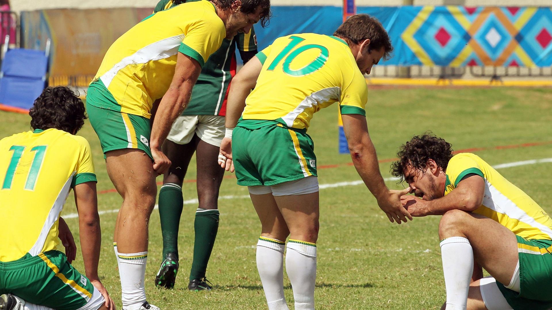 Brasil venceu a Guiana na última partida e foi sétimo no rúgbi do Pan-2011 (30/10/2011)