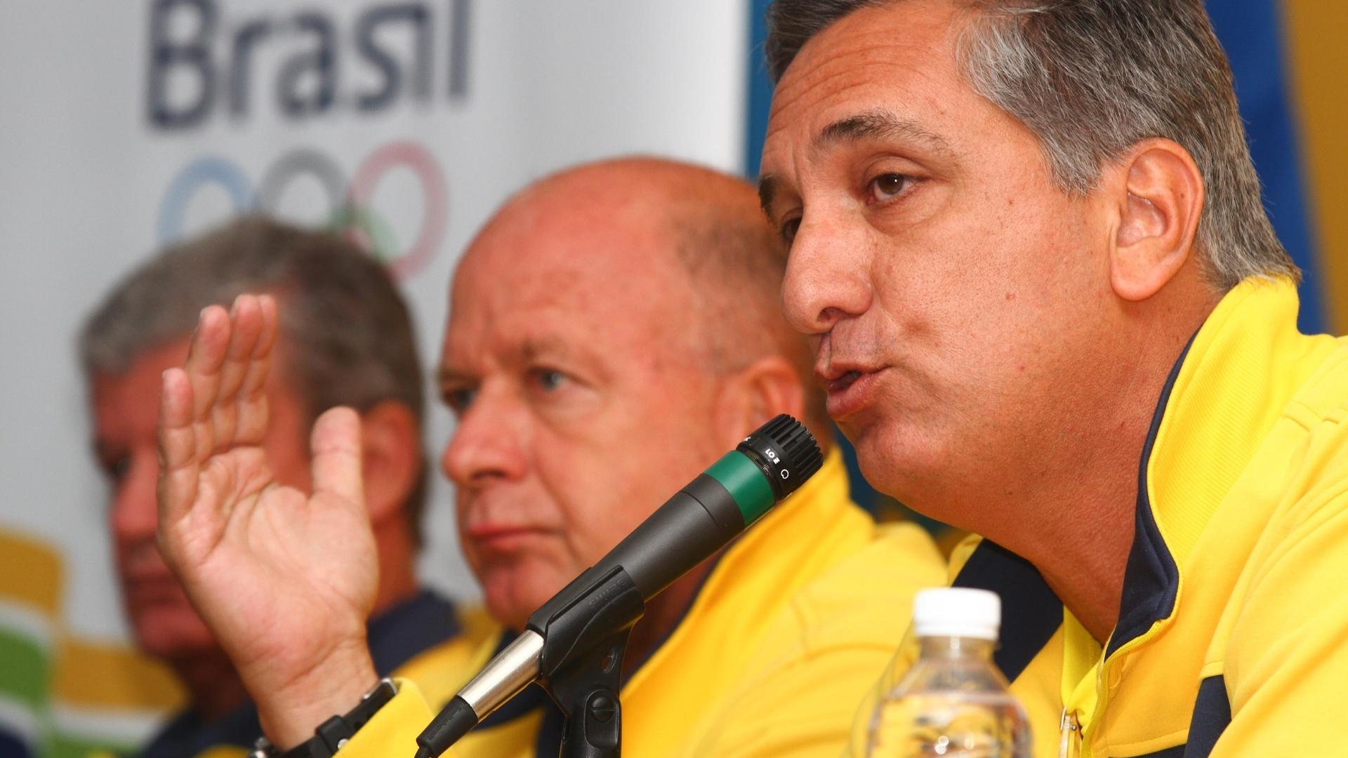 Marcus Vinícius Freire fala sobre o desempenho brasileiro no último dia do Pan (30/10/2011)