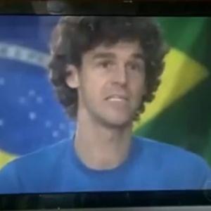 Guga participou do primeiro capítulo de nova novela da Globo