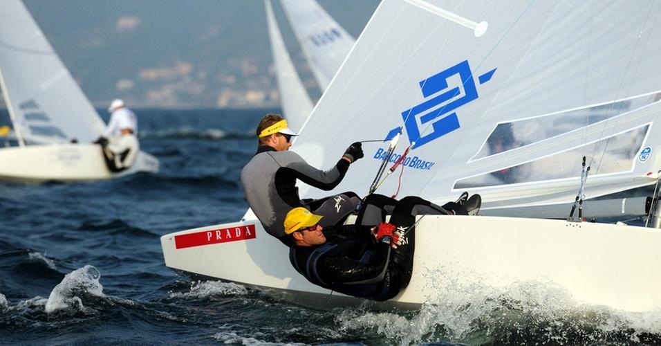 Robert Scheidt compete na classe Star ao lado de Bruno Prada desde 2008