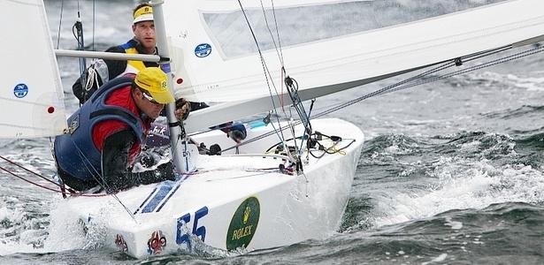 Robert Scheidt e Bruno Prada disputam a Semana Olímpica de Miami, nos EUA
