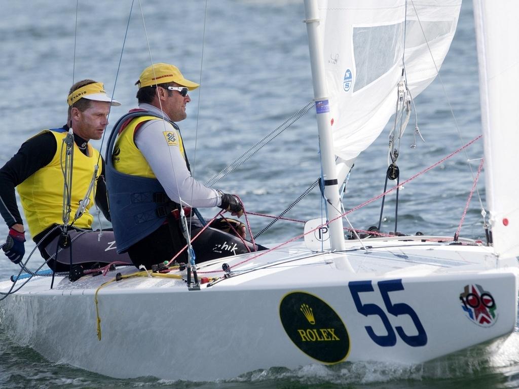 Robert Scheidt e Bruno Prada conquistam a etapa de Miami da Copa do Mundo de vela por antecipação