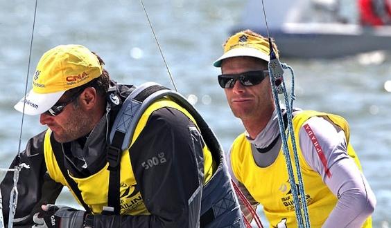 Bruno Prada e Robert Scheidt, campeões da classe Star na Semana de Medemblik (28/05/2011)