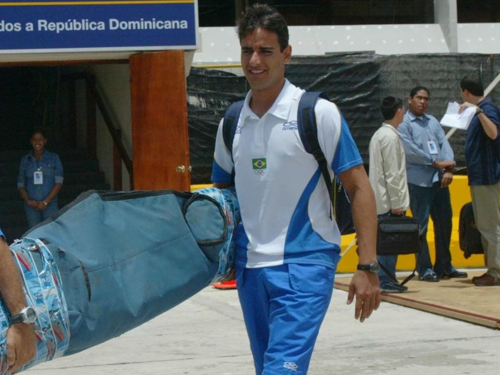 Daniel Santiago, atleta brasileiro classificado para o Pan-2011 no J-24 da vela