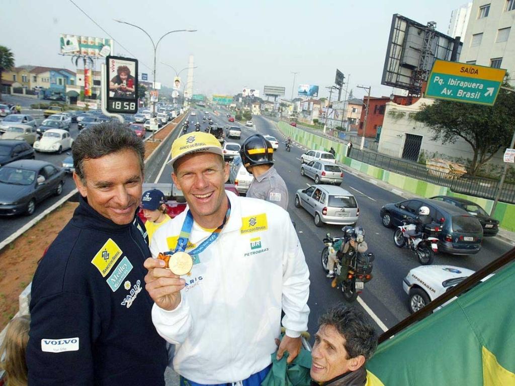 Cláudio Biekarck, atleta brasileiro classificado para o Pan-2011 na categoria Lightning da vela