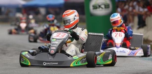 Nelsinho Piquet no Super Kart Brasil