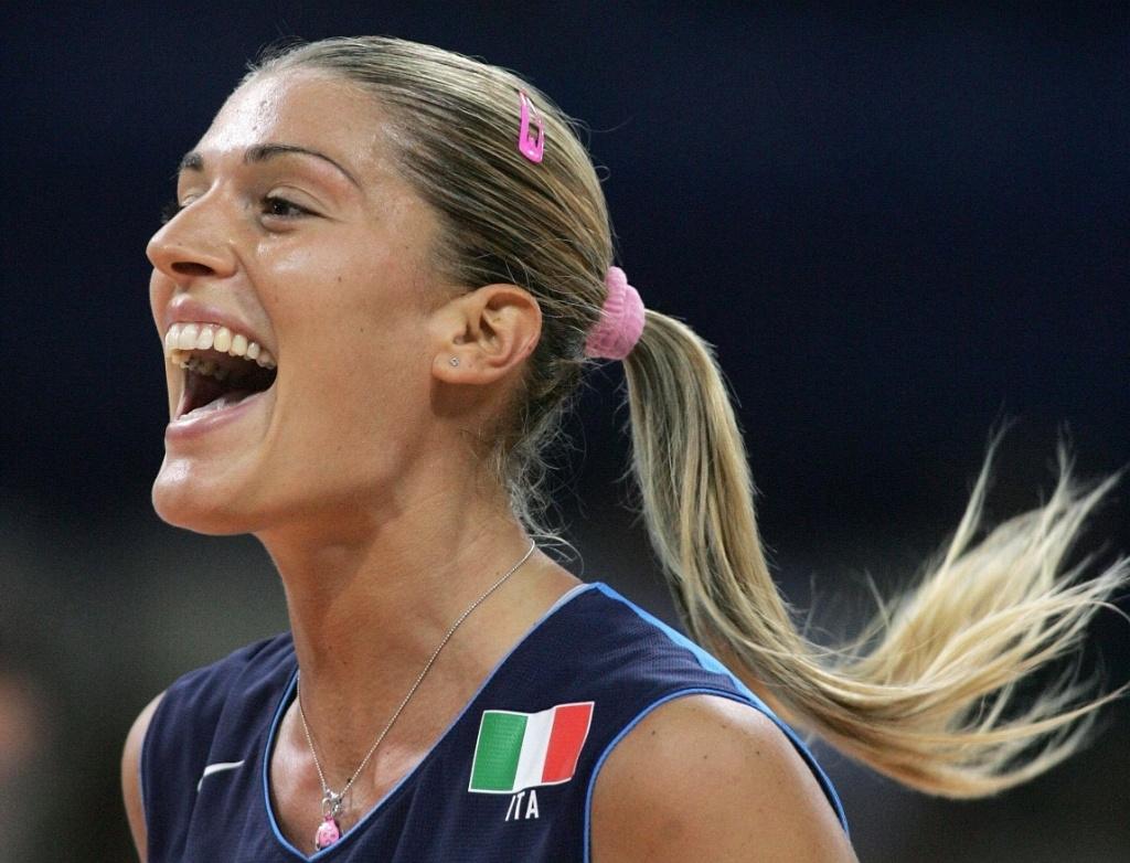 Francesca Piccinini, jogadora e musa da seleção italiana