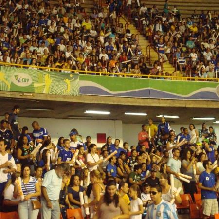 Torcida do Cruzeiro no ginásio Mineirinho em 2011 - Bernardo Lacerda/UOL