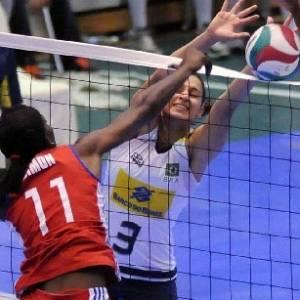 Seleção feminina vence Cuba na semifinal da Copa Pan-Americana