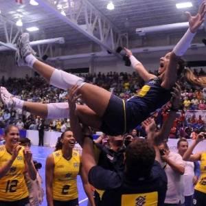 Seleção feminina comemora título da Copa Pan-Americana no México