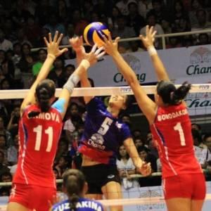 Bloqueio russo fez a diferença contra a Tailândia (07/08/2011)