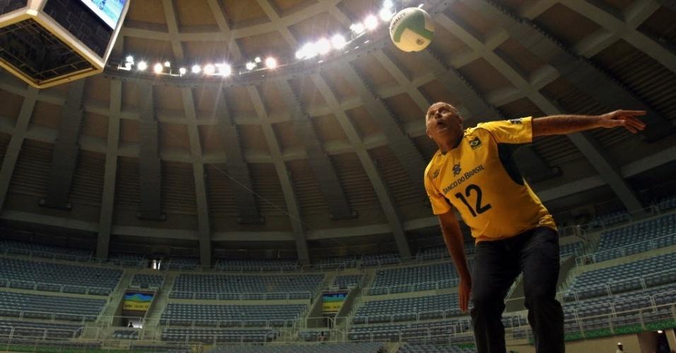 Bernard Rajzman, ex-jogador de vôlei e chefe de delegação do Brasil no Pan-2011