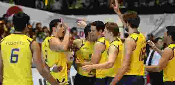 Brasil tentará em Londres seu terceiro ouro olímpico - Divulgação/FIVB
