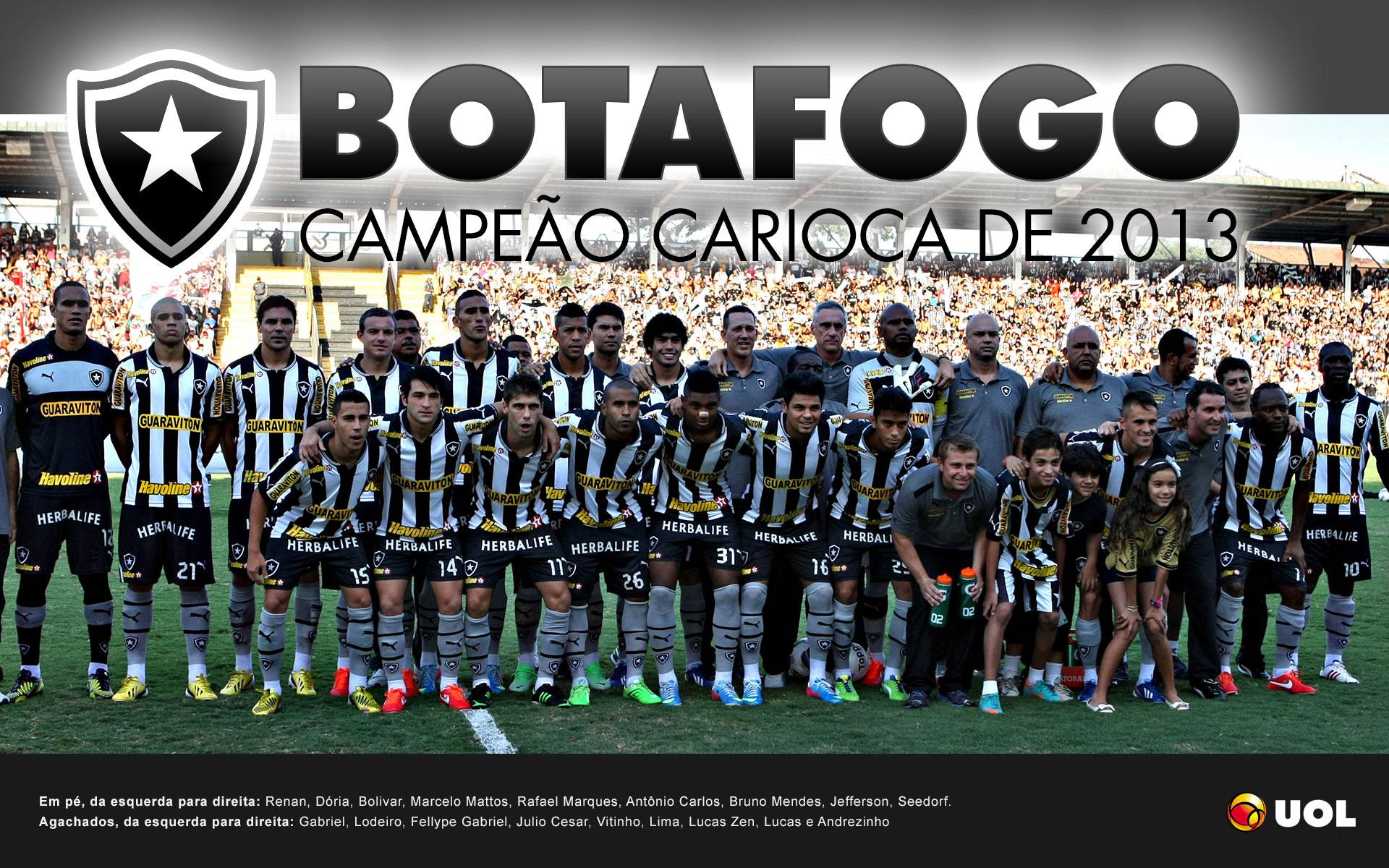 Botafogo é campeão do Estadual do Rio 2013 - Pôsteres - UOL Esporte 6f2b78b1ee07b