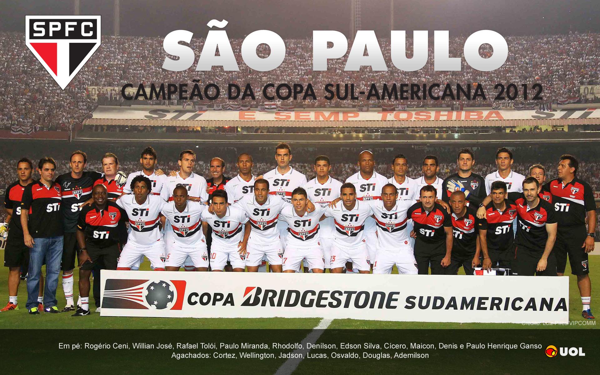 São Paulo campeão da Copa Sul-Americana 2012 - Pôsteres - UOL Esporte