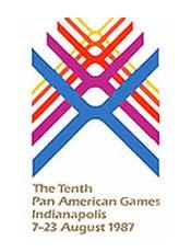 Pôster do Pan de 1987, Indianapolis