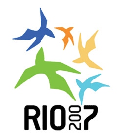 Pôster do Pan de 2007, Rio de Janeiro